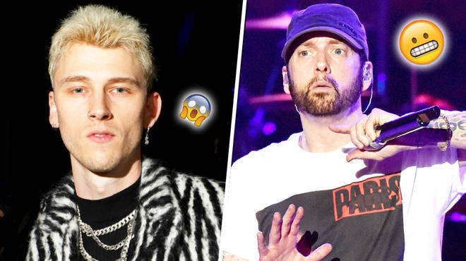 "Machine Gun Kelly Trolls Eminem By Performing His Diss Track ""Rap Devil"" In His Hometown"