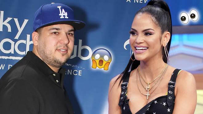 Rob Kardashian Shoots Shot At Famous Dominican Singer