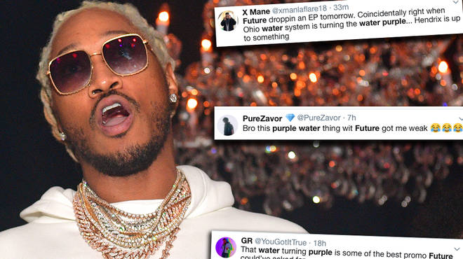 Future Fans Give The Most Hilarious Reaction To Ohio Tap Water Turning Purple On Twitter