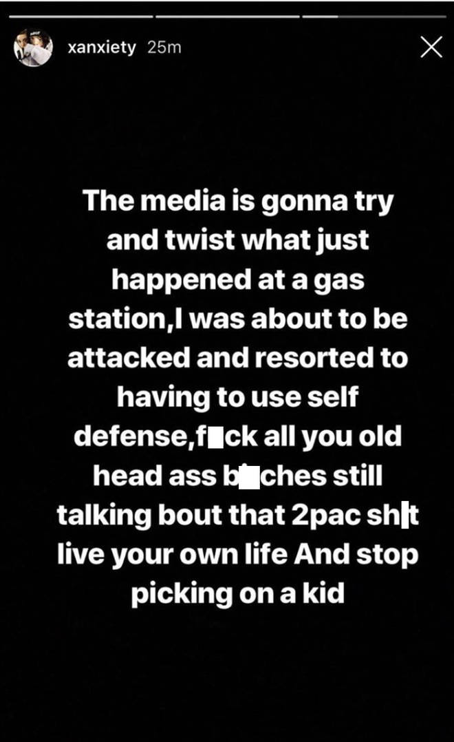 Lil Man responds to the altercation where he pulled out a gun on a Tupac fan