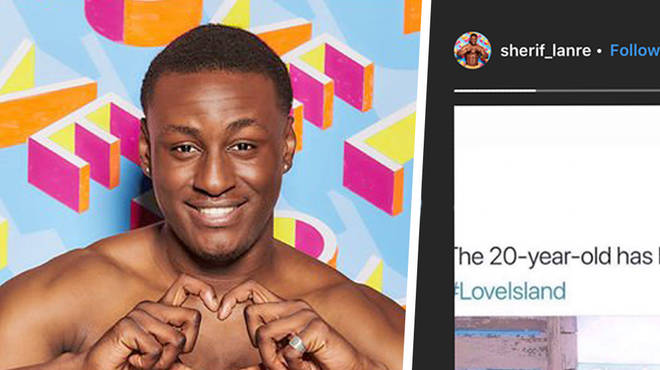 Sherif hinted at his post-show plans after being kicked off Love Island.