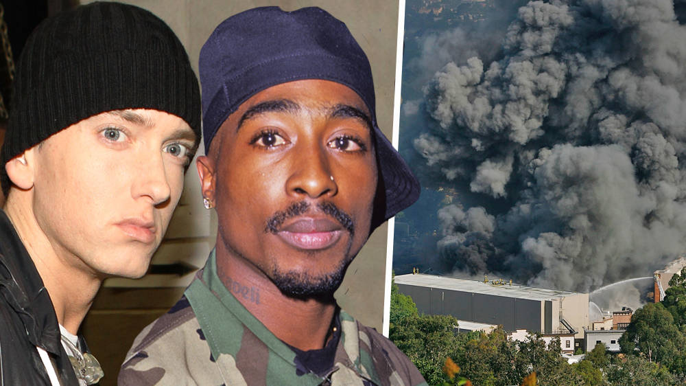 Tupac, Eminem And 50 Cent's Masters Recordings Tragically Destroyed In Universal Studios Fire