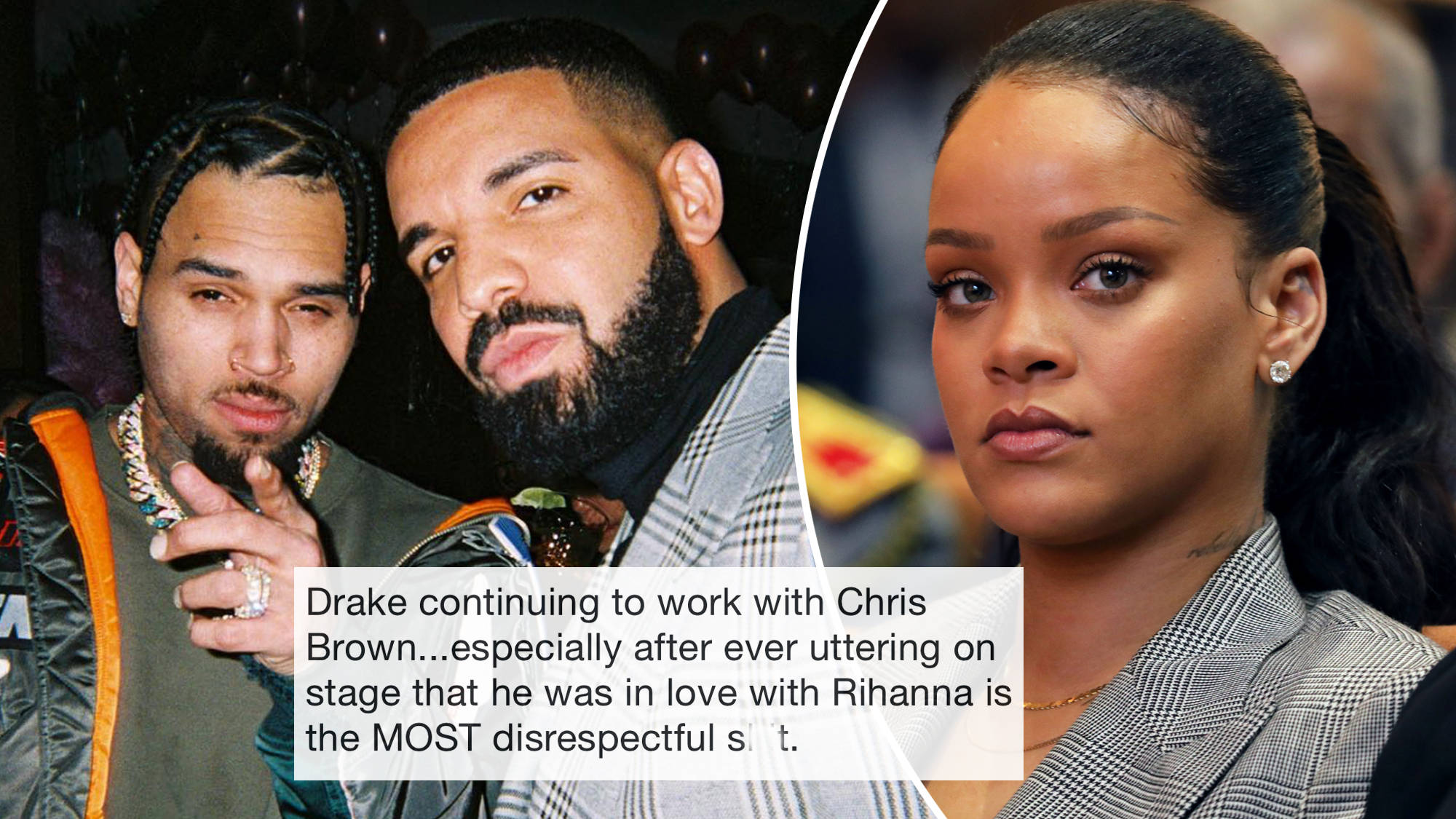 Drake Slammed For Chris Brown Collab As Fans Call It Disrespectful Towards Capital Xtra