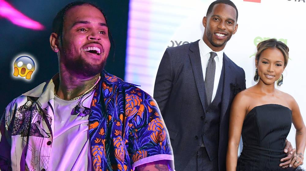 Chris Brown Savagely Roasts Ex Karrueche's New Boyfriend Victor Cruz On Instagram