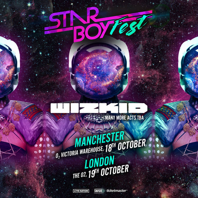 Wizkid is performing two Star Boy Fest shows in the UK
