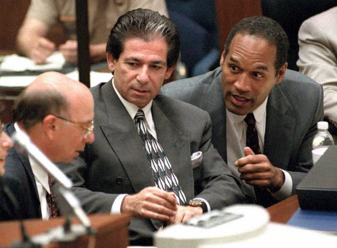 Lawyer Robert Kardashian famously worked with his friend OJ Simpson during his murder trial.