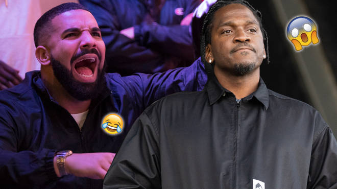"Drake fans think he has subliminally taken jabs at Pusha T in his new song ""Omertà"""