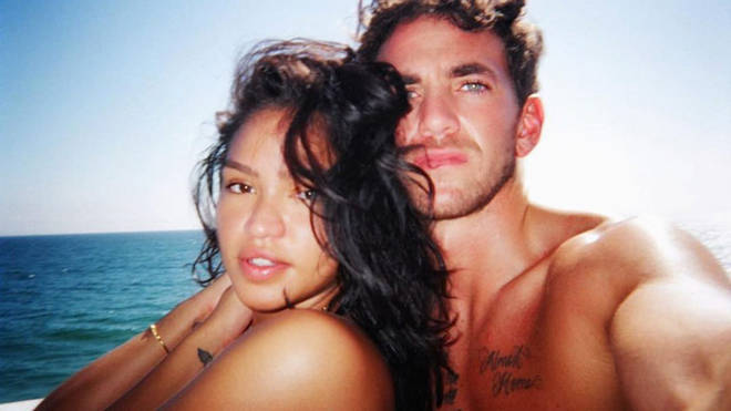 Cassie and boyfriend Alex Fine have been dated since the end of 2018.