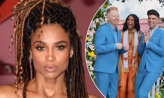 Ciara shut down a fan who criticised her for officiating a gay wedding in Taylor Swift's new music video.