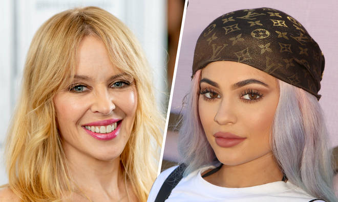 Kylie Minogue launches cosmetics range to compete with Kylie Jenner