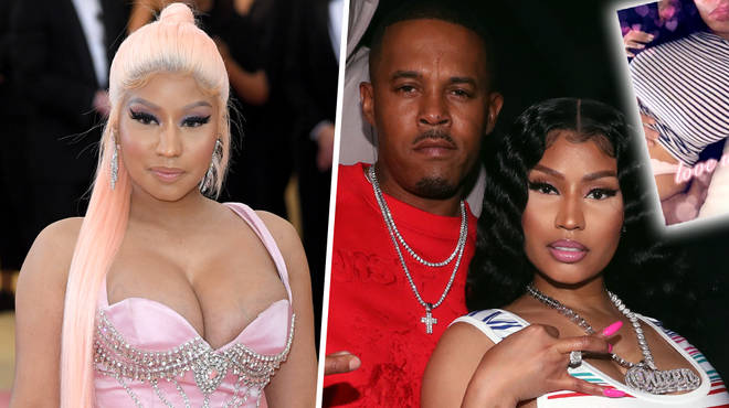 Nicki Minaj Sparks Pregnancy Rumours After Posting Shock Video With Kenneth Petty