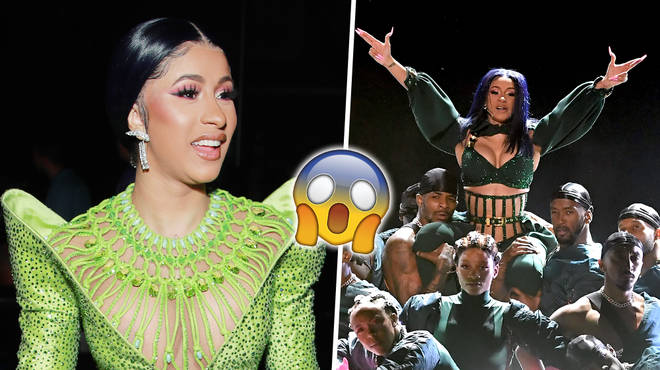 """Cardi B chants """"I ain't going jail"""" during her BET Experience performance"""