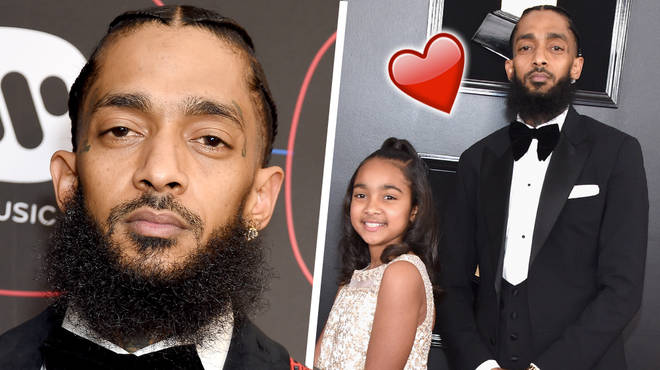 Nipsey Hussle's daughter Emani, 10, has paid tribute to him during her graduation speech