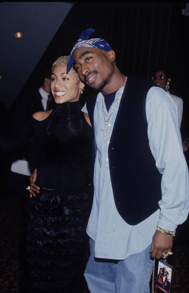 Jada Pinkett-Smith and Tupac were long-rumoured to have been romantically involved.
