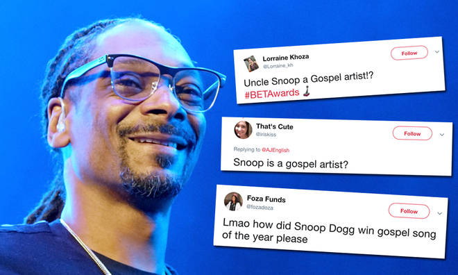 Snoop Dogg won 'Best Gospel' at the 2019 BET Awards