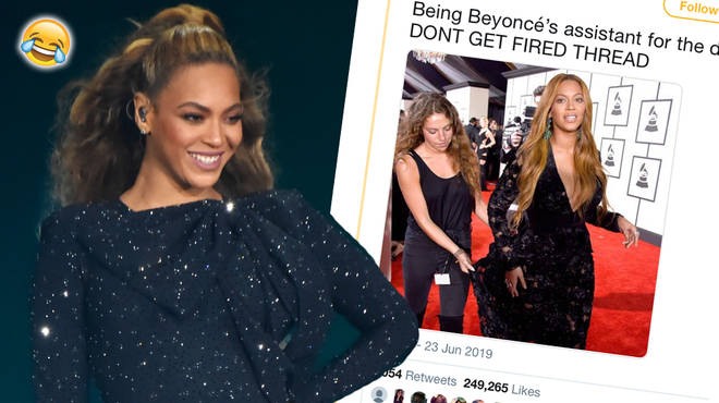Could you be Beyoncé's assistant ?