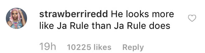 Fans comment on Ja Rule son looking like his father