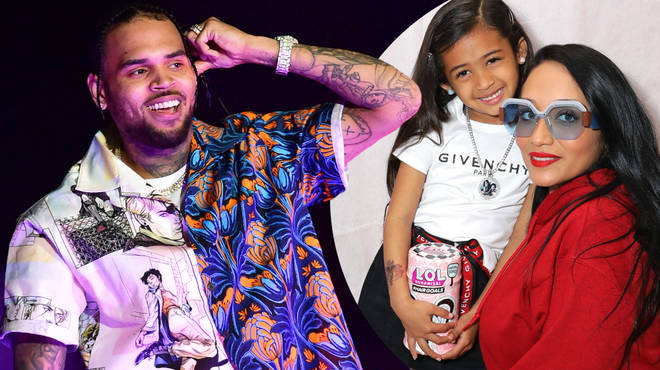 Nia Guzman, the mother of Chris Brown's daughter Royalty, has announced a second child