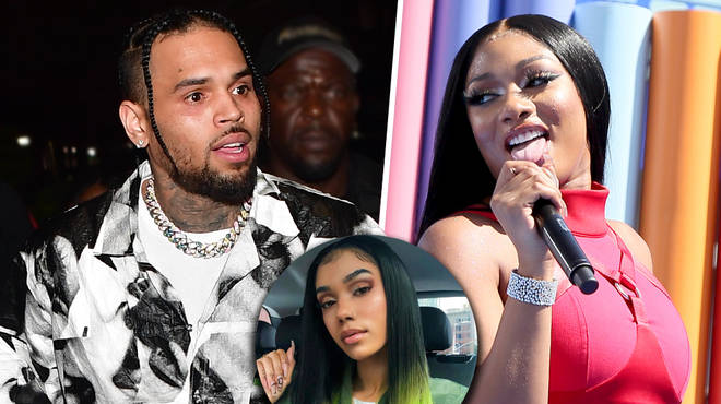 Chris Browns alleged ex-girlfriend Indymarie is rumoured to be dating Megan Thee Stallion