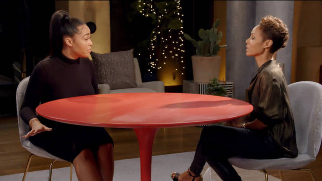 Jordyn appeared on Jada Pinkett Smith's Red Table Talk in March this year