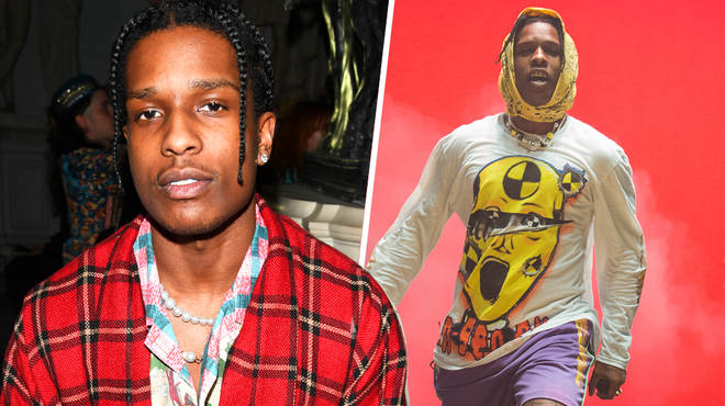 A$AP Rocky reportedly attacks a man with his crew in Sweden