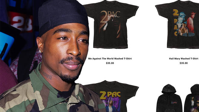Tupac's official Instagram account has announced a new summer merch