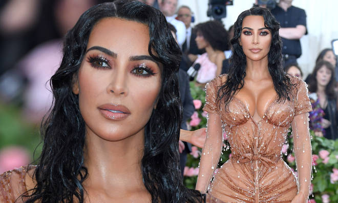 "Kim Kardashian claims her Met Gala dress caused ""indentations"" on her back and stomach."