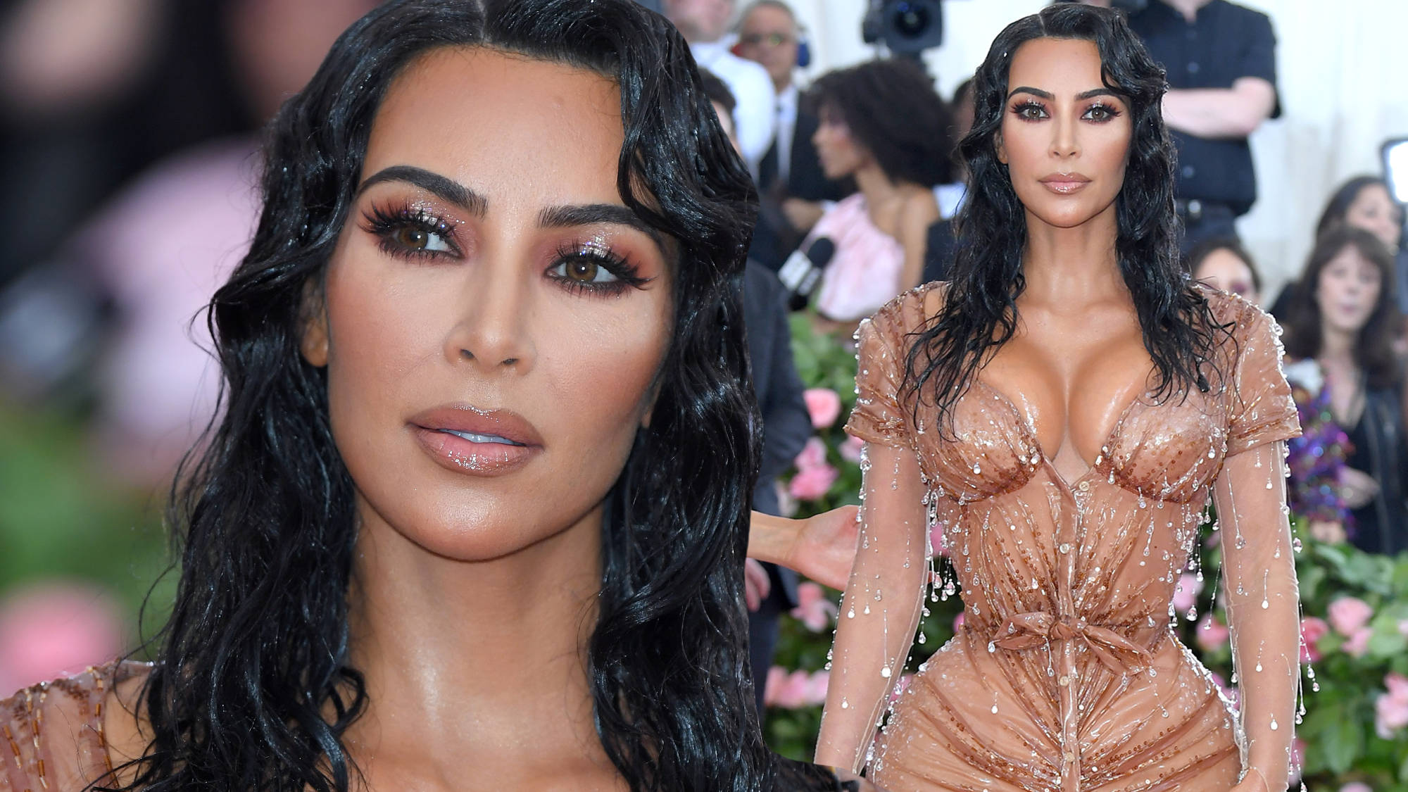 """Kim Kardashian's Controversial Met Gala Dress Caused Her Pain She's """"Never Felt In Her Life"""""""
