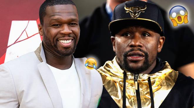 50 Cent trolls Floyd Mayweather on Instagram