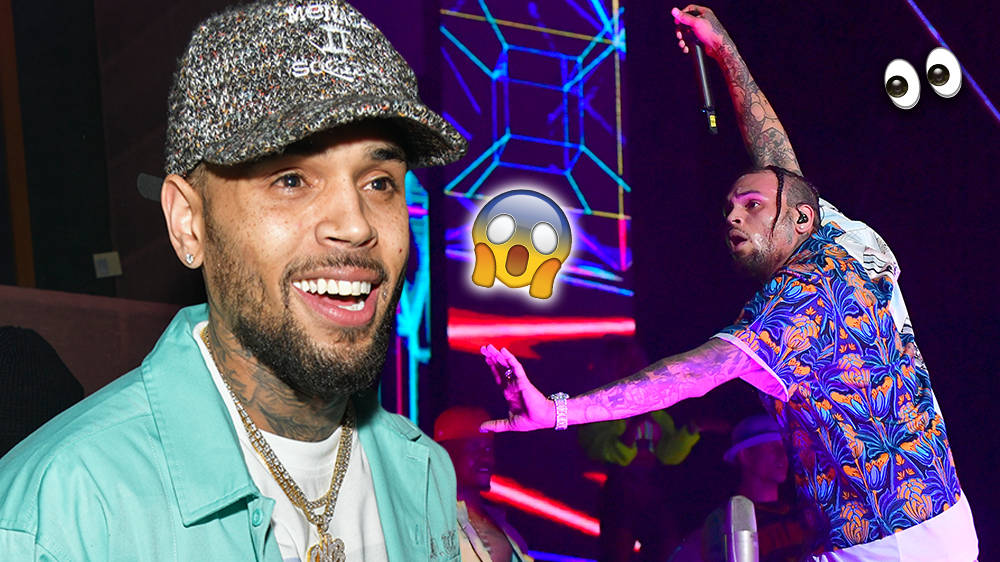 Chris Brown Stuns Fans With His Incredible Dancing On Stage During Indigo Tour - WATCH