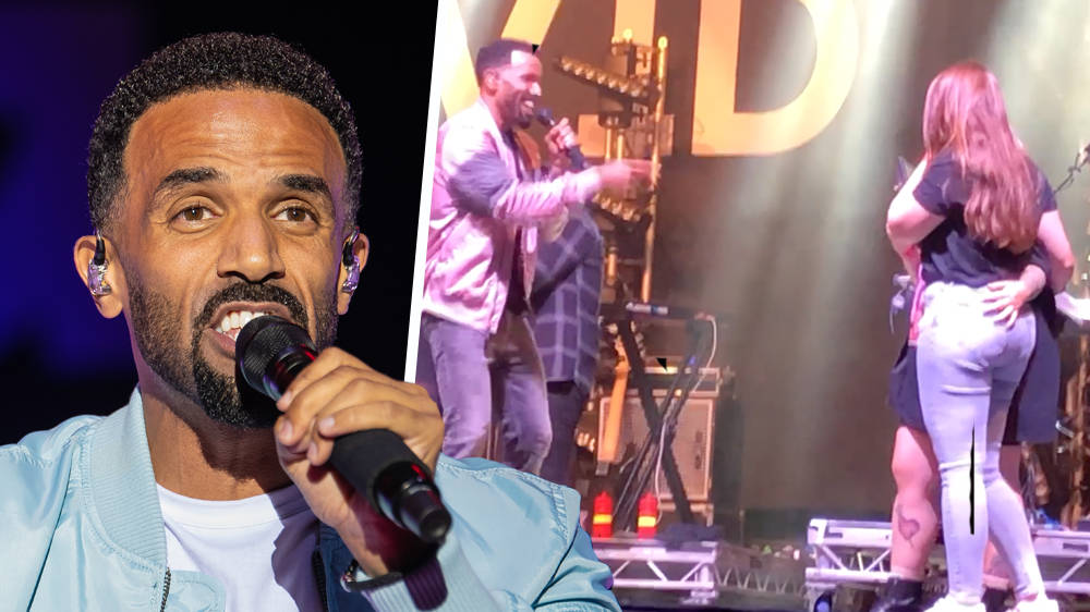 Craig David Celebrates Fans' Engagement With Beautiful On-Stage Performance - WATCH