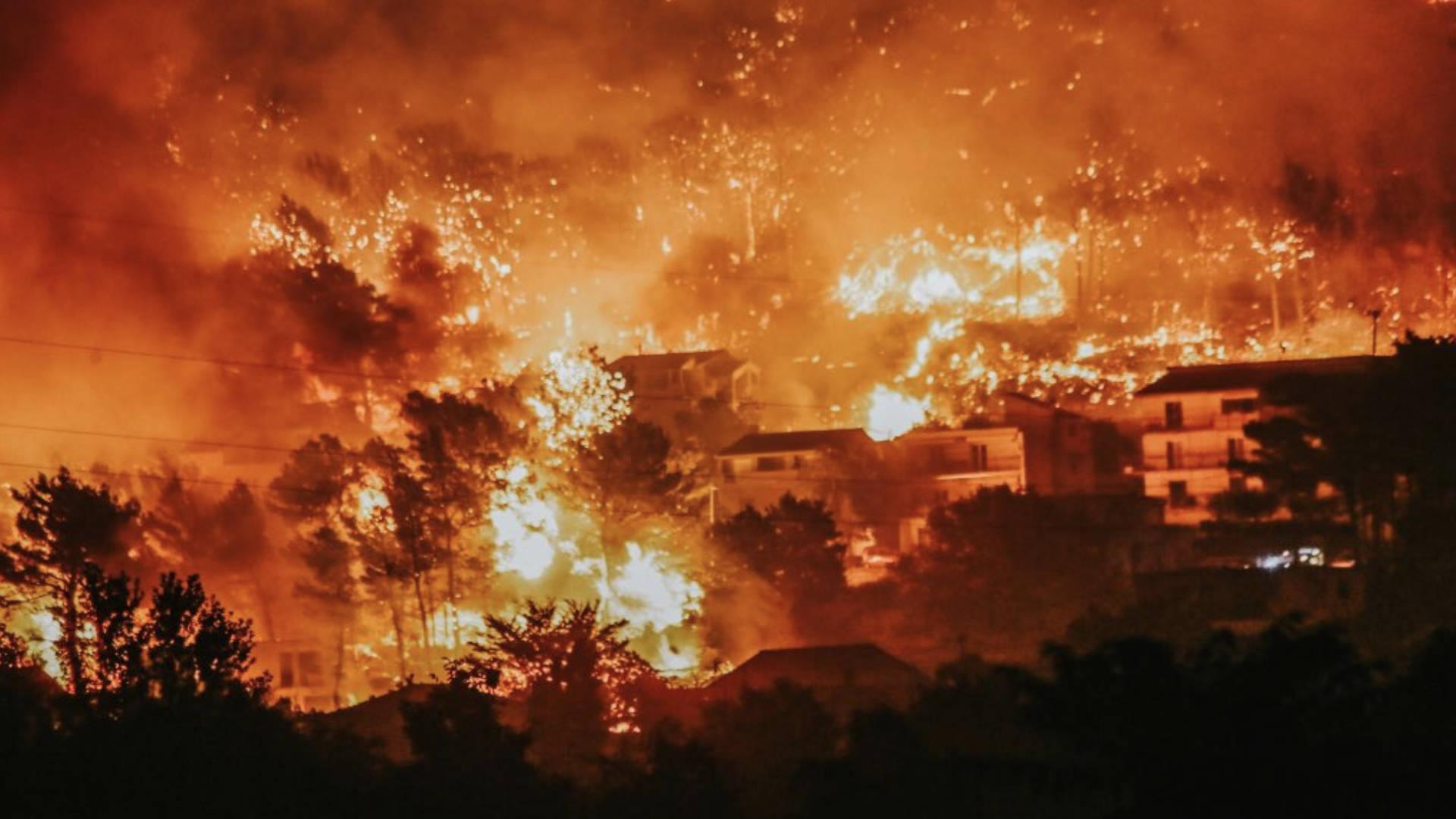 Croatia Fire: Fresh Island Festival-Goers Evacuated From Zcre Beach After Massive Blaze Breaks Out