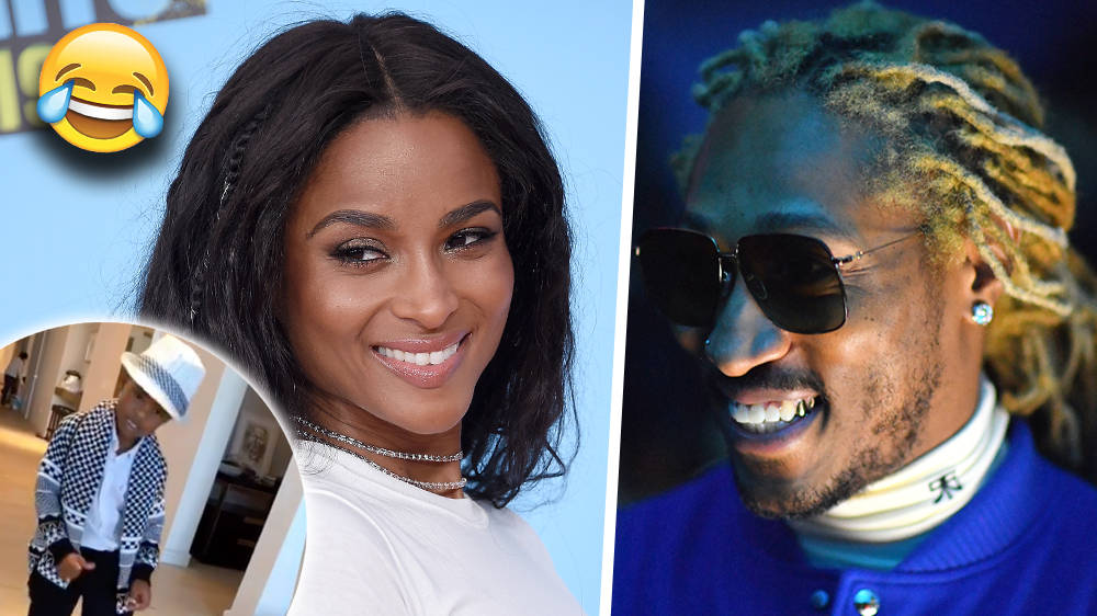 Ciara & Future's Son Shows Off His 'Michael Jackson Moves' In The Cutest Video - WATCH