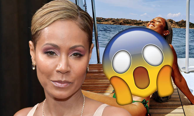 Jada Pinkett-Smith put her unreal figure on display during vacation.