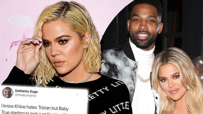 Khloe Kardashian responds to fan who uploads a savage Tristan Thompson meme