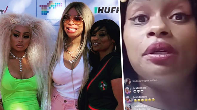 Blac Chyna's mother Tokyo Toni goes in on Wendy Williams on Instagram Live
