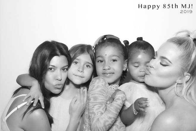 In the images from great-grandmother MJ's birthday, North can be seen wearing a nose ring.