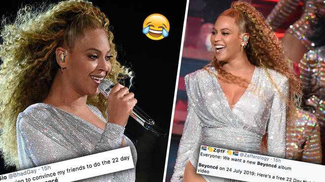 The Beyhive have reacted to the star's 22 day vegan diet on Twitter & it's hilarious