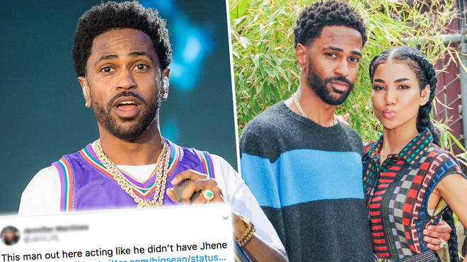 "Big Sean has responded to a fan who claims he ""fumbled the bag"" with Jhene Aiko"