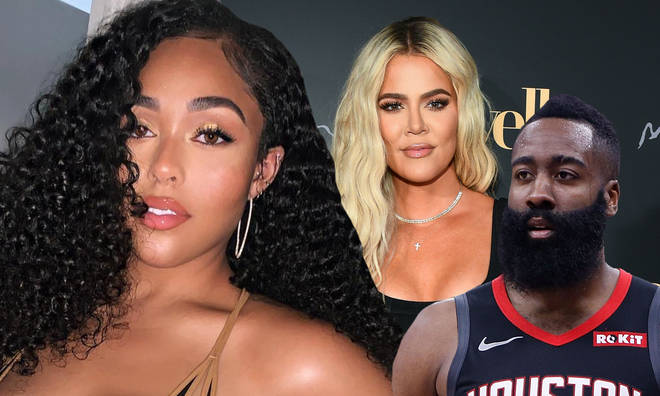 Jordyn Wood was spotted hanging out alongside James Harden, who used to date Khloe Kardashian.