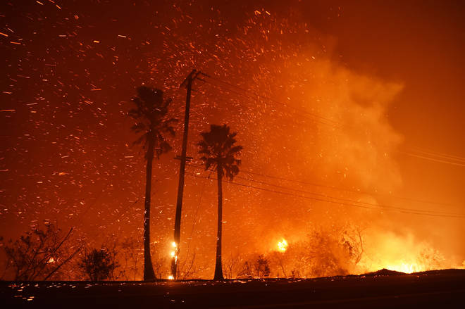 Thousands of homes were evacuated last year during the disastrous California Wildfires.