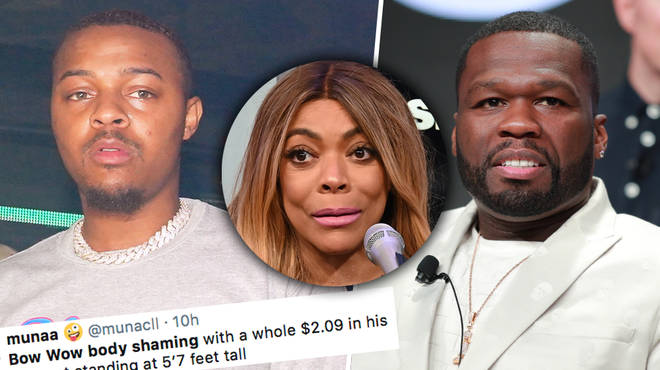 Bow Wow & 50 cent have gotten fans on Twitter riled up after 'body shaming' Wendy Williams