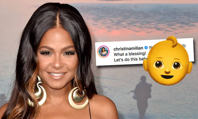 Christina Milian reveals she's pregnant with sweet Instagram photo