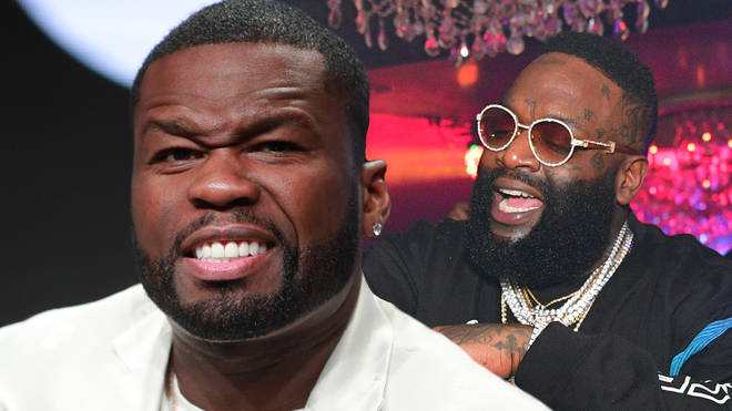 "50 Cent addressed Rozay&squot;s ""value"" comments during a Power press run."