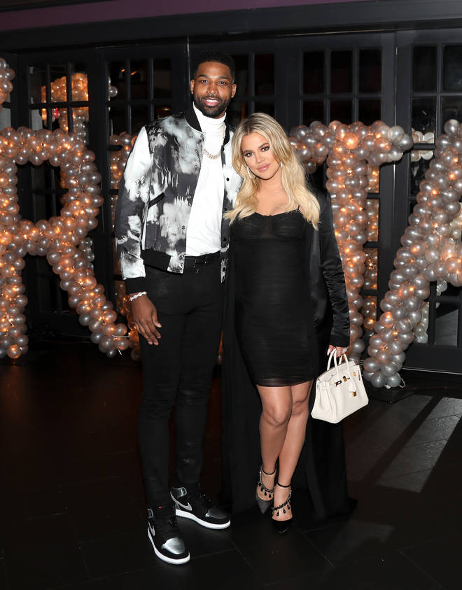 Khloe and Tristan welcomed daughter True in April 2018.