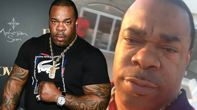 Busta Rhymes has reportedly brought a woman to tears after heated in-air altercation