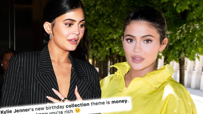 Kylie Jenner has received brutal backlash for her money-themed make up collection