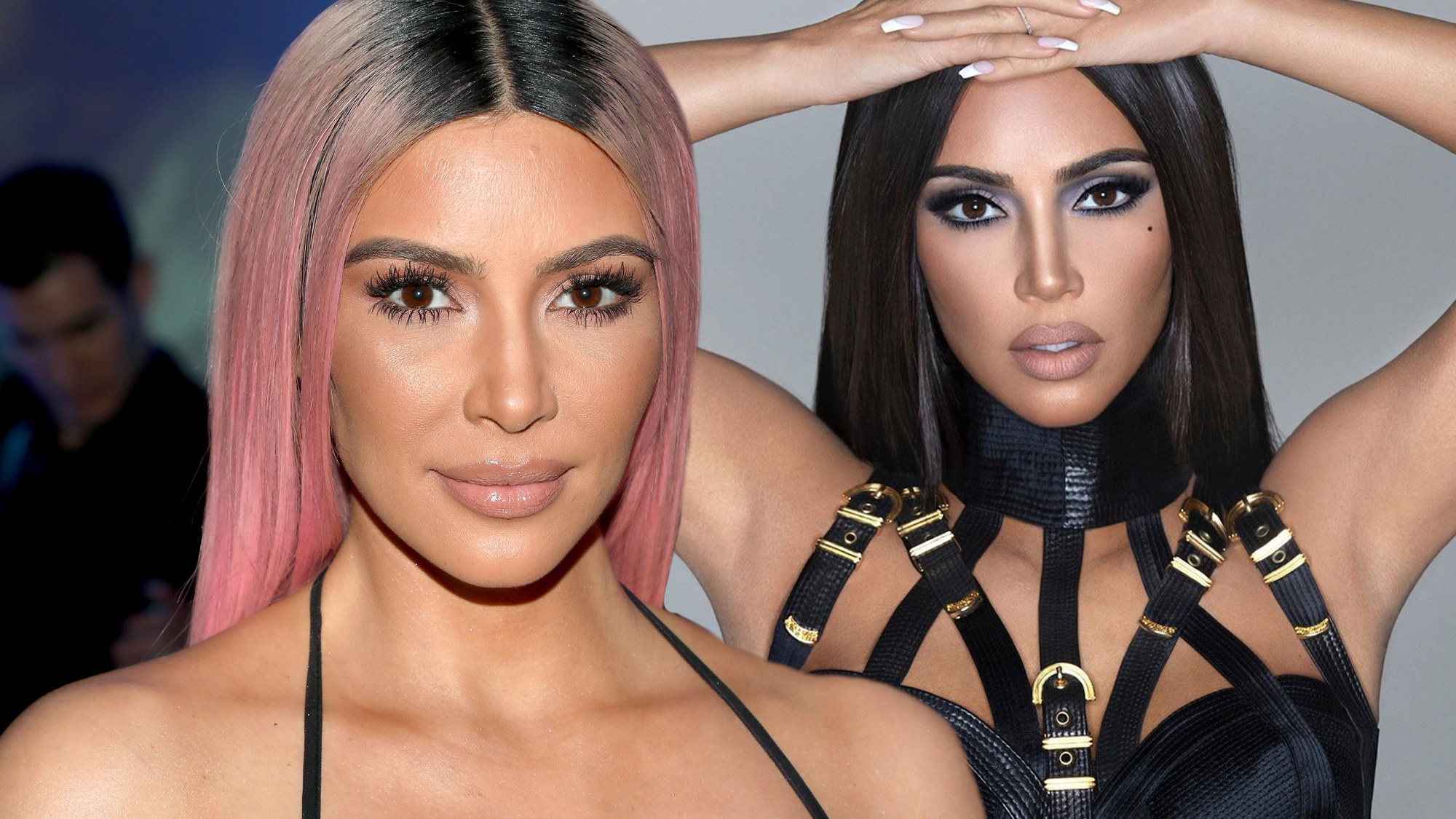 """Kim Kardashian Dragged For """"Unrecognisable"""" & """"Photoshopped"""" New Campaign Picture"""