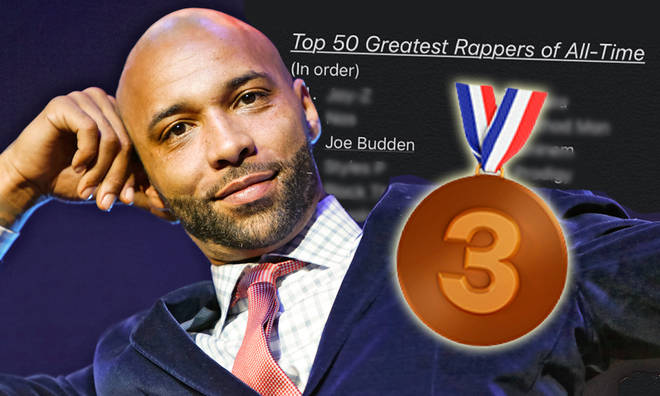 Joe Budden named in top 3 rappers of all time