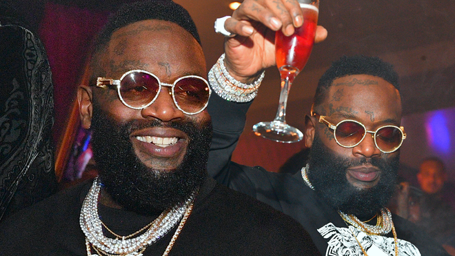 Rick Ross has revealed his favourite rappers of all time.